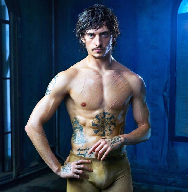 "Opera de Paris retira do elenco o ""bad boy do balé"" Sergei Polunin"